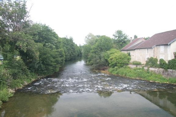 The Marne  at Riaucourt