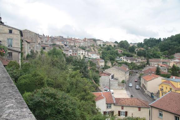 View from the High Town, Bar le Duc