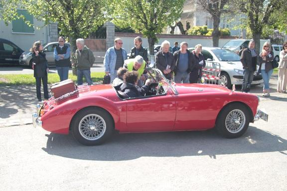 Vintage cars, Mayday, St Mammes
