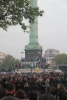 Victory celebrations, Bastille, French Presidential Elections