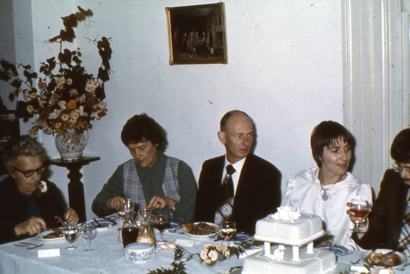 Marjorie Ridgway, Jo and Bill Kerr, and Rosemary