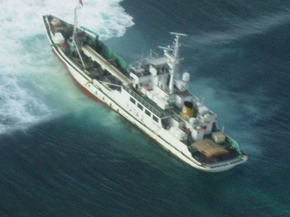 Relief ship hits reef at 0100