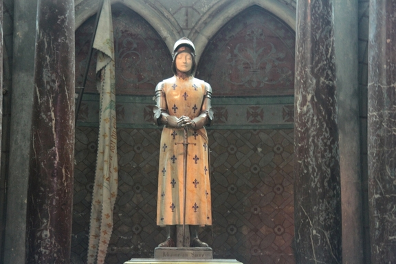 Joan of Arc, Cathedral at Reims