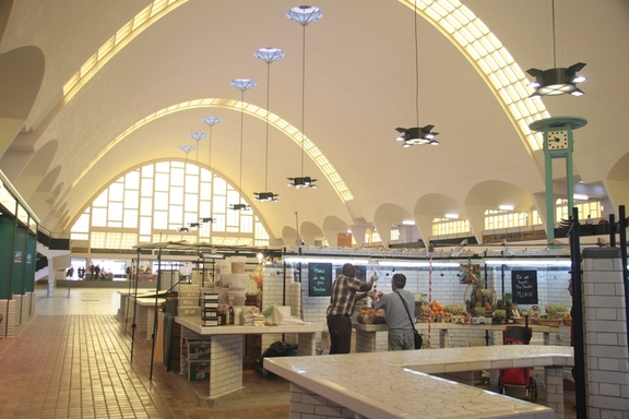The new Market Halles du Boulingrin