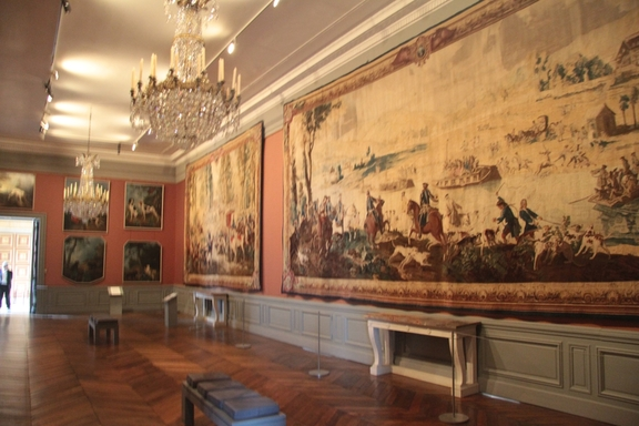 Tapestries, Chateau at Compiegne