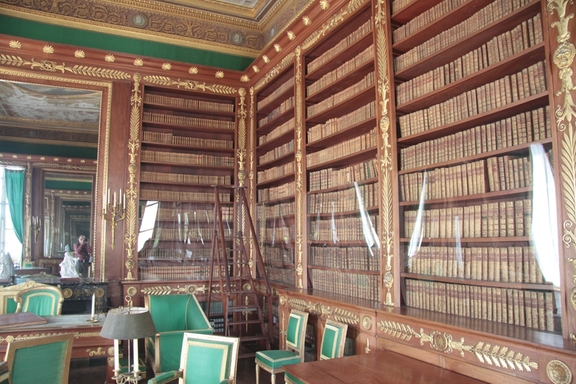 Library, Chateau at Compiegne
