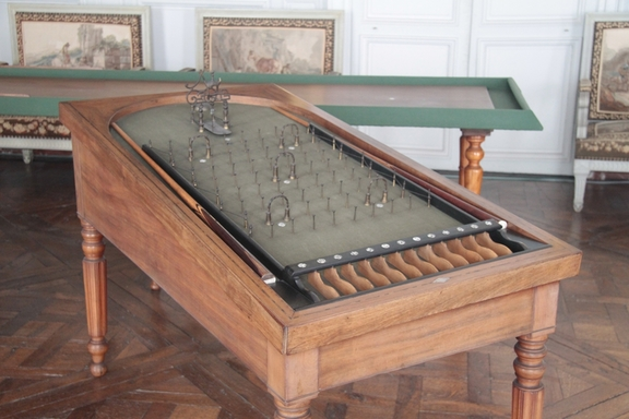 Games room,  Chateau at Compiegne