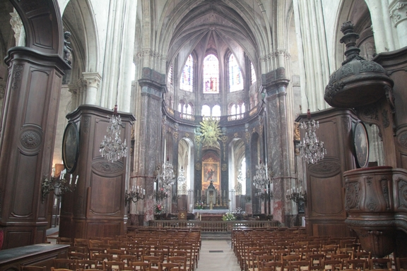 Church of St Jacques, Compiegne