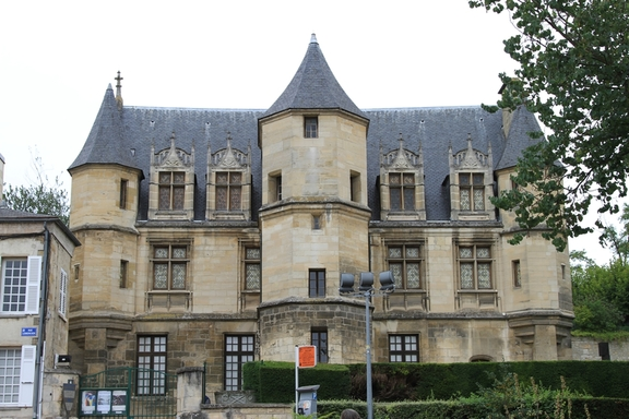 The Chateau  at Pontoise