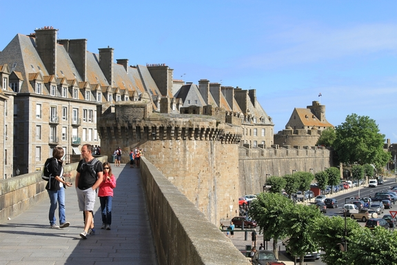 Walled city of St Malo