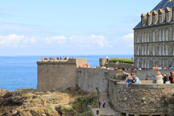 The ramparts, St Malo