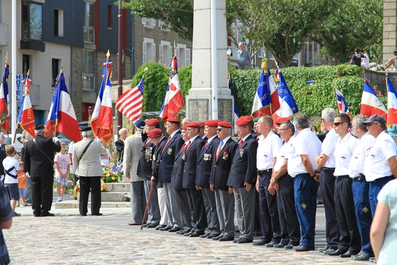 15th August parade, Dinard's liberation in WWII