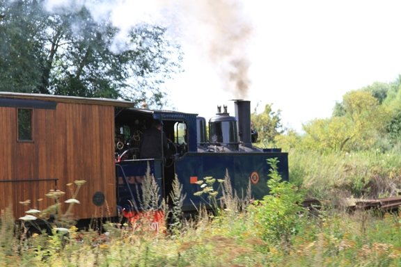 Steam train near St Valery