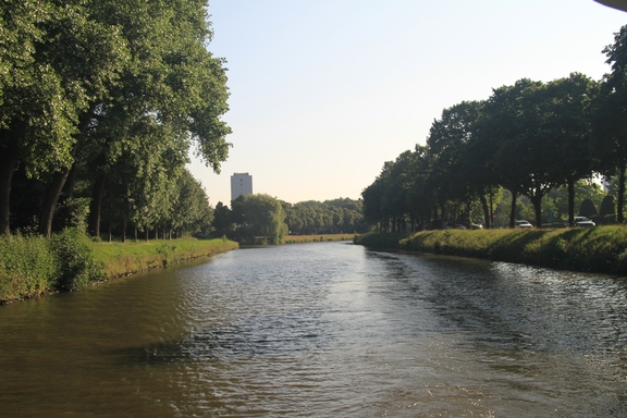 Peaceful Canal, Ghent to Ostend