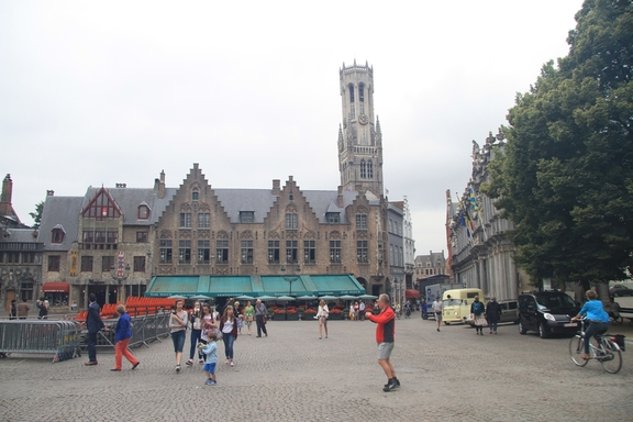 Town Hall and belfry, Brugge