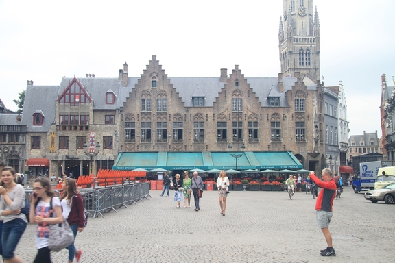 Town square, Brugge
