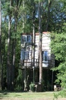 Two storey tree house