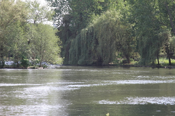 Loing River at Nemour