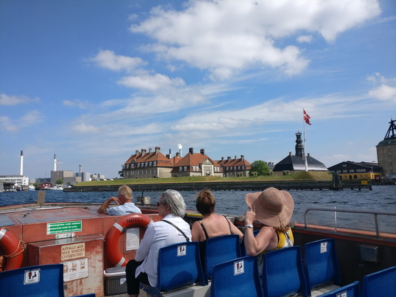 View of Copenhagen from the Canal boat