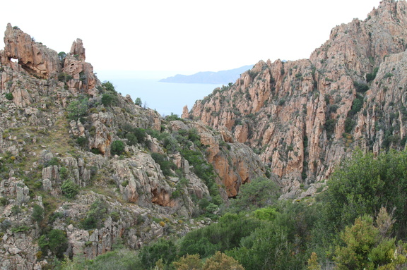 Les Calanches near Piana